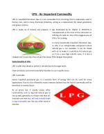About LPG - An Important Commodity