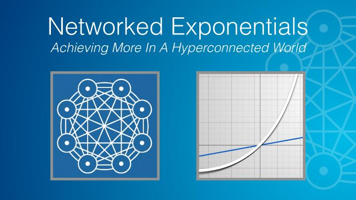 networked exponentials achieving more n.