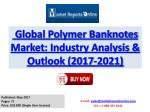 New Study on 2017 Global Polymer Banknotes Market Trends Analysis and Forecasts Report