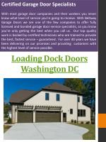 Garage Doors DC