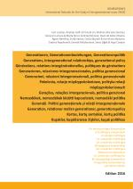 Generations, intergenerational relationships, generational policy: A multilingual compendium - Edition 2016