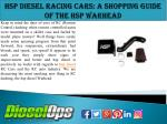 Hsp Diesel Racing Cars: A Shopping Guide of the HSP Warhead
