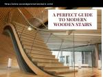High-quality custom made wooden stairs for home