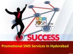 Promotional SMS Services In Hyderabad | Bulk SMS Hyderabad