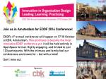 EODF 2014 Annual Conference - brochure