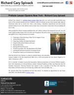Probate Lawyer Queens New York - Richard Cary Spivack