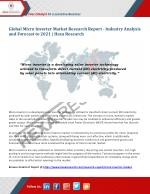 Global Micro Inverter Market Research Report - Industry Analysis and Forecast to 2021 | Hexa Research
