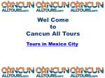 Tour in Mexico City