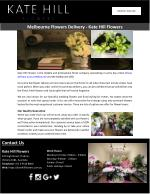 Melbourne Flowers Delivery - Kate Hill Flowers