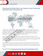 Global Potentiometers Market Analysis, Size, Share, Growth and Forecast to 2021 | Hexa Research