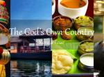 The god's own country - kerala tour
