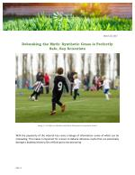 Debunking the Myth: Synthetic Grass is Perfectly Safe, Say Scientists