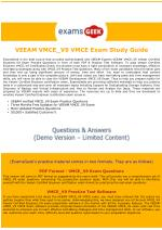 VMCE_V9 Exam Dumps - Veeam Certified Engineer (VMCE) v9 Exam Questions