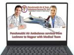 Panchmukhi Air Ambulance Services from Lucknow to Nagpur with Medical Team