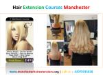 Hair Extension Courses and Certification