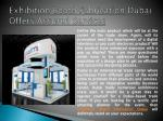 Exhibition Booth Fabrication Dubai Offers Assured Services