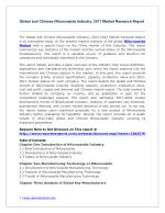 Global and Chinese Nifuroxazide Industry Report 2017 with Feasibility Study of Future Projects