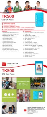 GPS Card for Kids TK500 - An Advanced GPS Tracking System for Your Kids