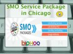 SMO Service Package in Chicago
