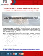 Global  Urinary Tract Infections Market Share, Size, Industry Trends, Growth Impact, Analysis And Forecasts, 2017-2021