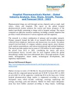 Hospital Pharmaceuticals Market Research Report Forecast to 2023