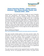 Steam Autoclave Market will rise to US$ 2.57 Billion by 2024