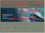 Accurate MCX Commodity Trading Tips Provider Company- Safal Trading