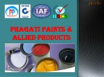 Water Based Lacquer Manufacturer & Supplier In Pune  | Pragati Paint & Allied Product