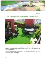 Why Using Artificial Grass on Your Roof Terrace is a Smart Idea