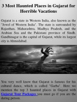 3 most haunted places in gujarat for horrible vacations