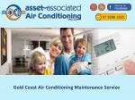 Gold Coast Air Conditioning Maintenance Service