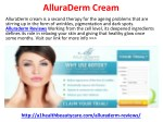 AlluraDerm Reviews, Price, Buy and Free Trial