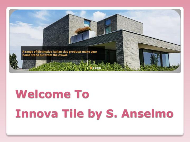 welcome to innova tile by s anselmo n.