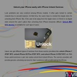 Unlock your iPhone easily with iPhone Unlock Services