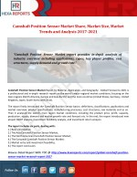 Camshaft Position Sensor Market Share, Market Size, Market Trends and Analysis 2017-2021