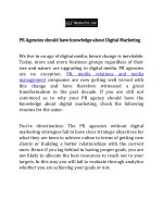 ICT Media is one of the trusted Public Relation company in Nagpur | Press conference