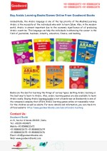 Buy Arabic Learning Books/Games Online From Goodword Books