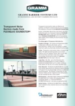 Transparent Noise Barriers made by Plexi Glass