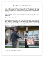 Why Top Realtor Is Essential For Selling Your Home