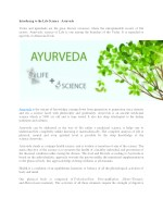 Best Ayurveda School in Rishikesh