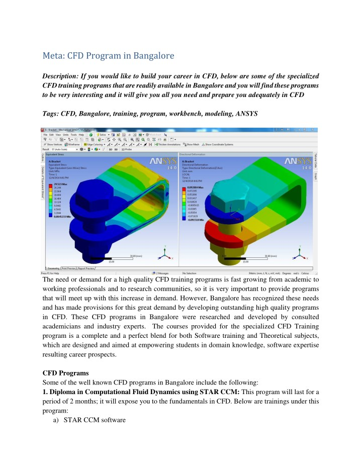PPT - Ansys CFX Certification PowerPoint Presentation - ID