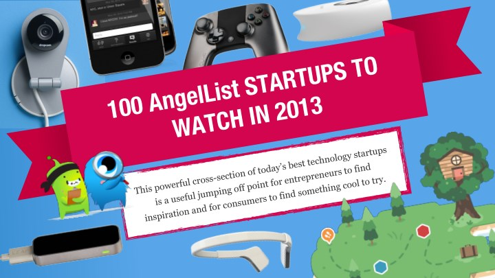 Top 100 AngelList Startups to Watch in 2014