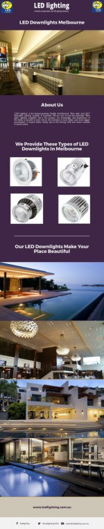 Looking For The Best LED Downlights Melbourne?