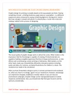 WHY SHOULD YOU CHOOSE S&T TO GET THE BEST GRAPHIC DESIGN WORK?