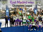 Real Madrid wins Champions League