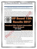 UP BOARD 12TH RESULTS| ANNOUNCED!!!CHECK UTTAR PRADESH INTERMEDIATE CLASS XII RESULT