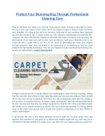 Increase the Life of Your carpet With Soho Rug Cleaning