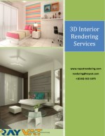 3D Interior Rendering Services The 3D way for All