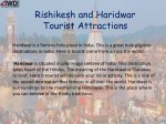 Rishikesh and Haridwar Tourist Attractions