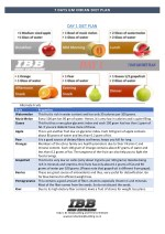 7 DAYS GM INDIAN DIET PLAN